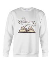 I Would Rather Be Reading Crewneck Sweatshirt thumbnail