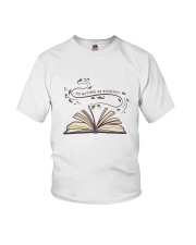 I Would Rather Be Reading Youth T-Shirt thumbnail