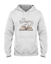 I Would Rather Be Reading Hooded Sweatshirt thumbnail