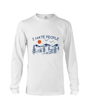 I Hate People Long Sleeve Tee thumbnail