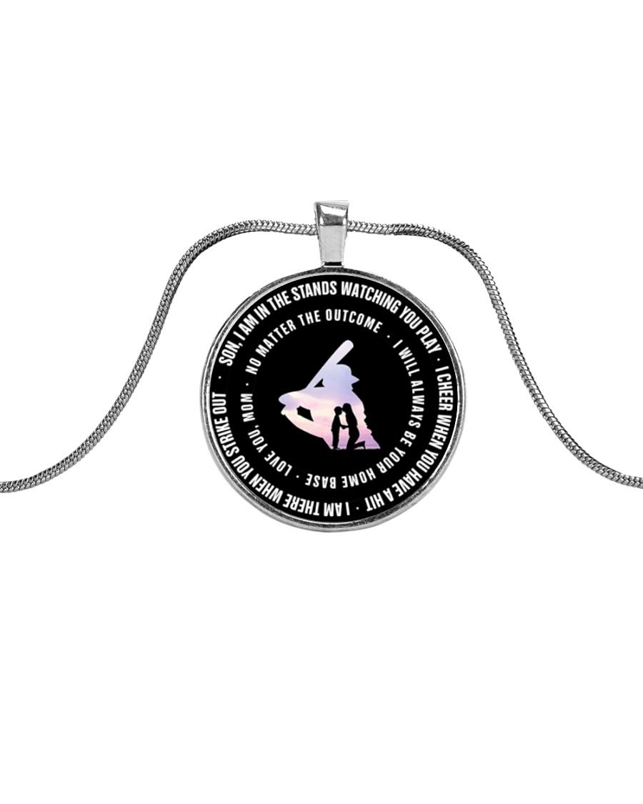 Love Son Metallic Circle Necklace