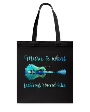 Music Is What Feelings Sound Like Tote Bag thumbnail