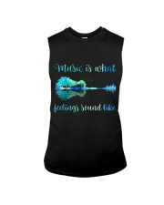 Music Is What Feelings Sound Like Sleeveless Tee thumbnail