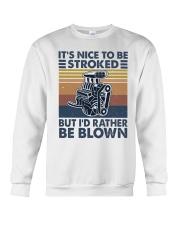 It's Nice To Be Stroked Crewneck Sweatshirt thumbnail