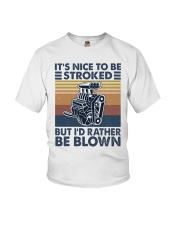 It's Nice To Be Stroked Youth T-Shirt thumbnail