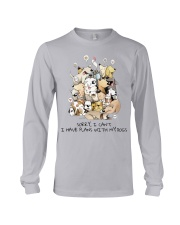 I Have Plans With My Dogs Long Sleeve Tee thumbnail