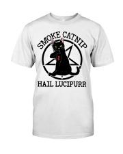 Smoke Catnip Hail Lucipurr Classic T-Shirt front