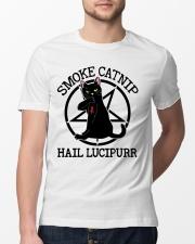 Smoke Catnip Hail Lucipurr Classic T-Shirt lifestyle-mens-crewneck-front-13