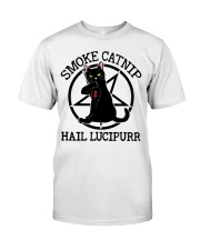Smoke Catnip Hail Lucipurr Premium Fit Mens Tee thumbnail