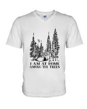 I Am At Home V-Neck T-Shirt thumbnail