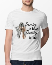 Dancing Is Love Dancing Is Life Classic T-Shirt lifestyle-mens-crewneck-front-13
