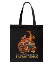 I'm Not Going Tote Bag tile