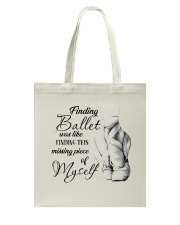 Finding Ballet Tote Bag thumbnail