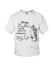 Finding Ballet Youth T-Shirt thumbnail