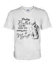 Finding Ballet V-Neck T-Shirt thumbnail