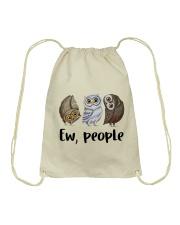 Love Owl Drawstring Bag thumbnail