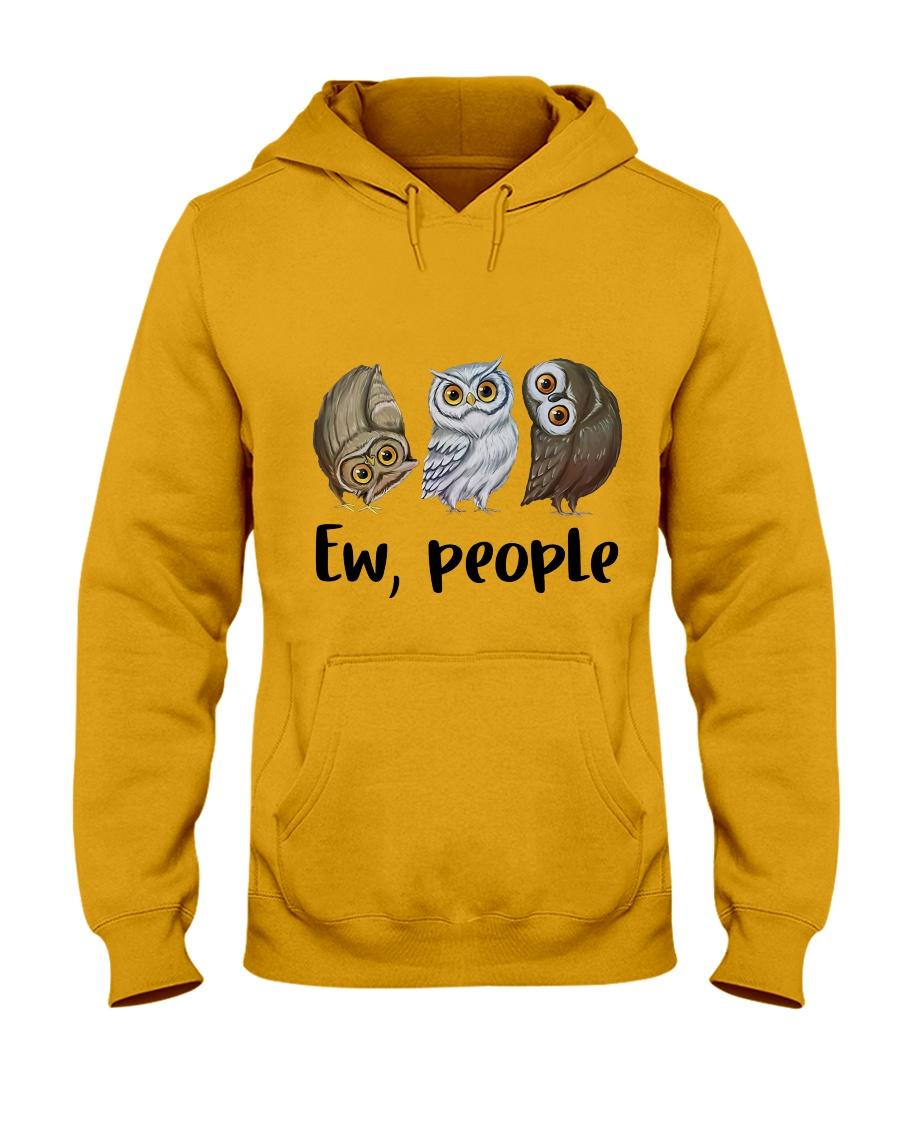 Love Owl Hooded Sweatshirt