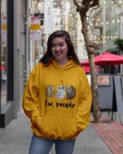 Love Owl Hooded Sweatshirt lifestyle-unisex-hoodie-front-2