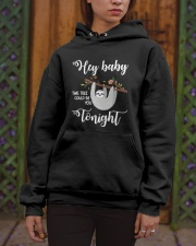 This Tree Could Be You Tonight Hooded Sweatshirt apparel-hooded-sweatshirt-lifestyle-front-03