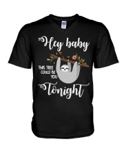 This Tree Could Be You Tonight V-Neck T-Shirt thumbnail