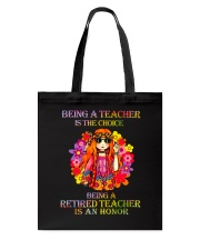 Being A Teacher Tote Bag tile