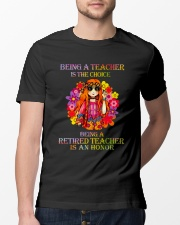 Being A Teacher Classic T-Shirt lifestyle-mens-crewneck-front-13