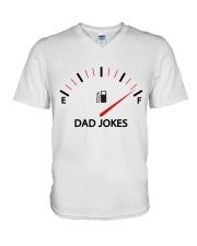 Dad Jokes V-Neck T-Shirt thumbnail