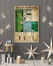 Golfer Knowledge 11x17 Poster lifestyle-holiday-poster-1