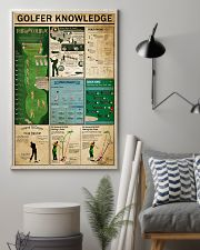 Golfer Knowledge 11x17 Poster lifestyle-poster-1