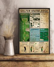 Golfer Knowledge 11x17 Poster lifestyle-poster-3