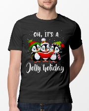 Oh Its A Jolly Holiday Classic T-Shirt lifestyle-mens-crewneck-front-13