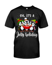 Oh Its A Jolly Holiday Premium Fit Mens Tee thumbnail