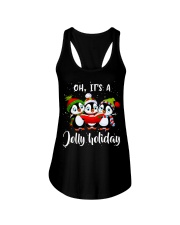 Oh Its A Jolly Holiday Ladies Flowy Tank thumbnail