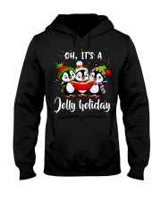 Oh Its A Jolly Holiday Hooded Sweatshirt tile