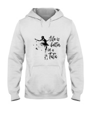 Life Is Better In A Tutu Hooded Sweatshirt thumbnail