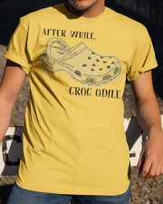 After While Croc Odile Classic T-Shirt apparel-classic-tshirt-lifestyle-28