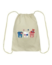 Independence Day Drawstring Bag thumbnail