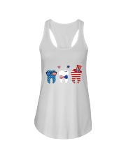 Independence Day Ladies Flowy Tank tile