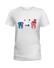 Independence Day Ladies T-Shirt thumbnail