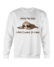 Sorry I Am Late Crewneck Sweatshirt thumbnail