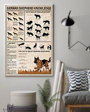German Shepherd Knowledge 11x17 Poster lifestyle-poster-1