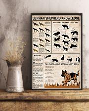 German Shepherd Knowledge 11x17 Poster lifestyle-poster-3