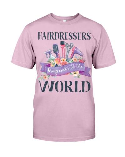 Hairdessers Bring Color