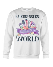 Hairdessers Bring Color Crewneck Sweatshirt thumbnail