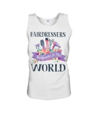 Hairdessers Bring Color Unisex Tank thumbnail