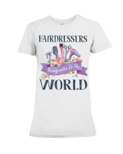 Hairdessers Bring Color Premium Fit Ladies Tee thumbnail