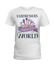 Hairdessers Bring Color Ladies T-Shirt thumbnail