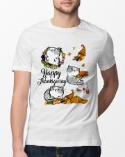 Happy Thanksgiving Classic T-Shirt lifestyle-mens-crewneck-front-13