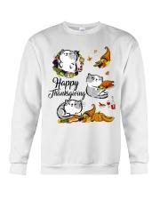Happy Thanksgiving Crewneck Sweatshirt thumbnail