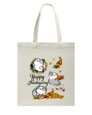 Happy Thanksgiving Tote Bag thumbnail